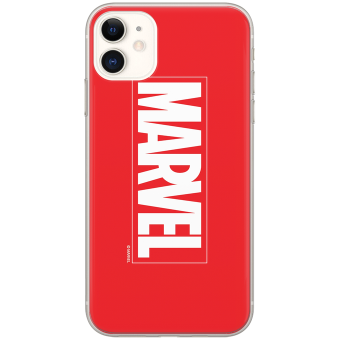 TPU iPhone 5/5S/SE Marvel Red
