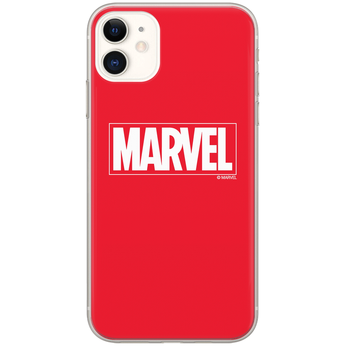 TPU iPhone 5/5S/SE Marvel Red 1