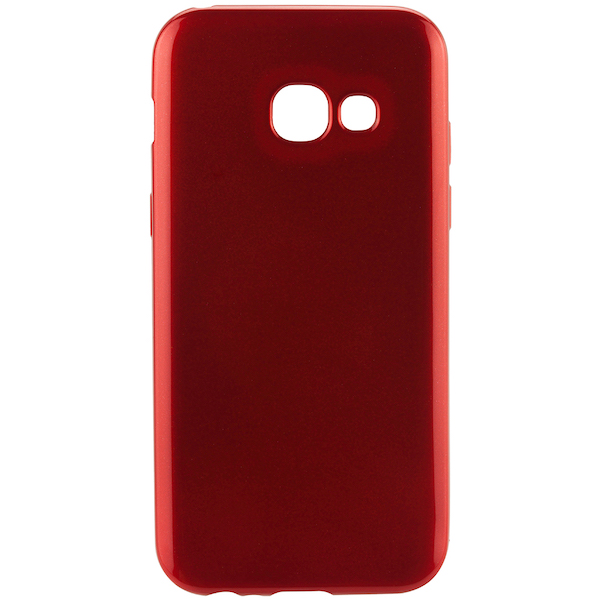 TPU Samsung A3 17 Red Jelly